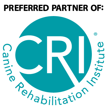 proud sponsor orf the Canine Rehabilitation Institute